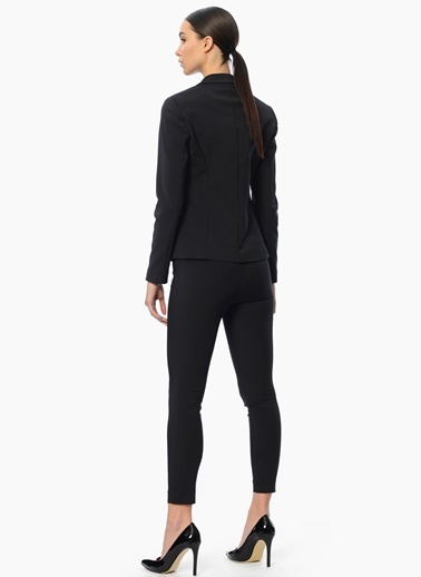 Network Slim Fit Pantolon Siyah